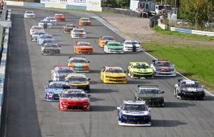 V8 Thunder start at Ahvenisto, Finland. Picture: V8 Thunder.